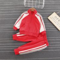 Abrigo y pantalones en bloque de color con estampado de osos para niños pequeños - Hibobi