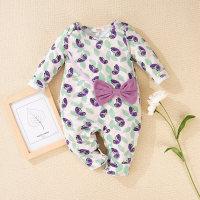 Hibobi - Mono para bebé niña con lazo floral - Hibobi