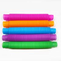 Juguetes de descompresión Fun Lift Tubo de plástico corrugado - Hibobi