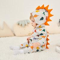 Dinosaur Print Jumpsuit - Hibobi