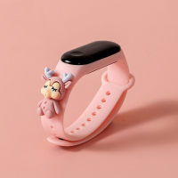 Children 3D Cartoon Animal Decor Waterproof Electronic Watch - Hibobi