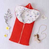 Soft Bird Pattern Sleeping Bag - Hibobi