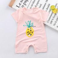 Letter Pattern Bodysuit for Baby - Hibobi