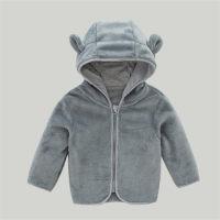 Abrigo con forro polar para niña pequeña - Hibobi