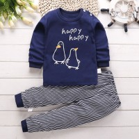 2-piece Cartoon Design Pajamas Sets for Toddler Boy - Hibobi