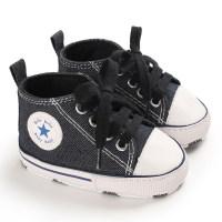 Zapatos de lona con puntos anaranjados para bebés / niños pequeños - Hibobi