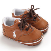 Casual Front Lace-up Design Baby Shoes - Hibobi