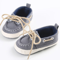 Soft Solid Canvas Shoes for Baby - Hibobi