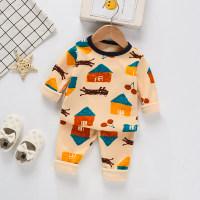 Toddler Boys Cartoon Deer Animal Pajamas Sets & Pants - Hibobi