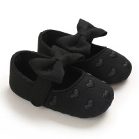 Round Toe Cotton Fabric Baby Shoes - Hibobi