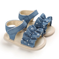 Velcro Ruffle Baby Shoes - Hibobi