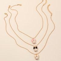 3-piece Stainless Steel Baby Jewelry Necklace - Hibobi