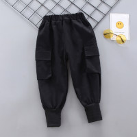 Pantalones tejidos de color liso para niño pequeño - Hibobi