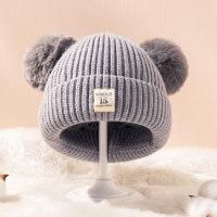 Precioso gorro de lana Hairball para bebés de 0-3 años - Hibobi