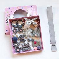 Accesorios para el cabello para niña pequeña Caja de regalo de 18 piezas - Hibobi