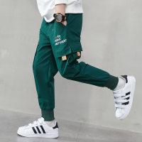 Pantalones casuales con estampado de letras Kid Boy - Hibobi