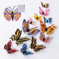 12 mariposas tridimensionales luminosas decoradas - Hibobi