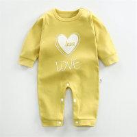 Mono de manga larga con patrón en forma de corazón para bebé niña - Hibobi