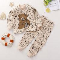 Toddler Girls Cartoon Little Bear Cotton Pajamas Sets & Pants - Hibobi