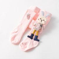 Baby Girl Sweet Cartoon Decor Leggings Tights - Hibobi