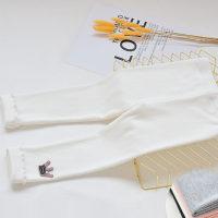 Pantalón Legging Elástico De Algodón Peinado Niño Niña - Hibobi